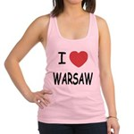 WARSAW.png Racerback Tank Top