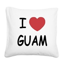 GUAM.png Square Canvas Pillow