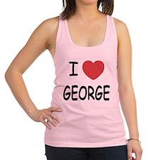 GEORGE.png Racerback Tank Top