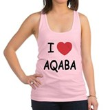 AQABA.png Racerback Tank Top