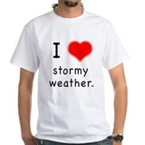 I Love Stormy Weather T-Shirt