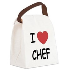 CHEF.png Canvas Lunch Bag