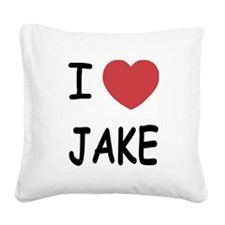 JAKE.png Square Canvas Pillow