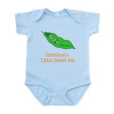 Grandmas Little Sweet Pea Onesie