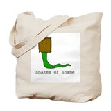 Snakes of Shame Tote Bag
