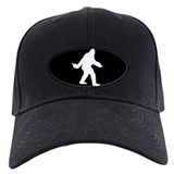 Bigfoot Flips The Bird Baseball Hat