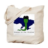Snakes in the Ukraine Tote Bag