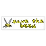 Save the bees - Bumper Sticker