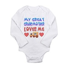 "Baby-Boy ""Great Grandmother"" Body Suit"