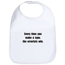 Typo Errorists Bib