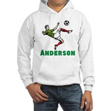 Personalized Soccer Jumper Hoody