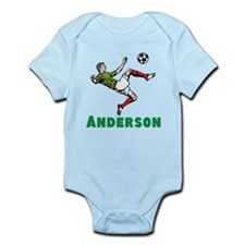 Personalized Soccer Infant Bodysuit