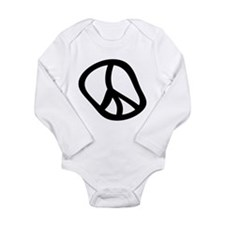 Hippie 1 Long Sleeve Infant Bodysuit