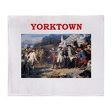 YORKTOWN.png Throw Blanket