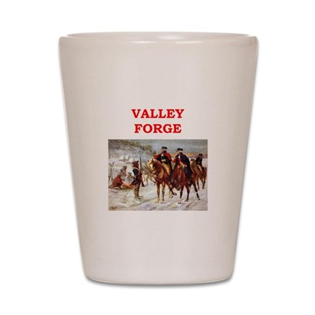 valley forge Shot Glass