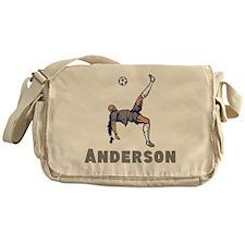 Personalized Soccer Messenger Bag