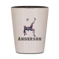 Personalized Soccer Shot Glass