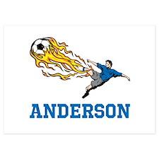 Personalized Soccer Invitations