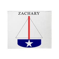 Zachary Sailboat Throw Blanket