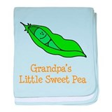 Grandpas Little Sweet Pea baby blanket