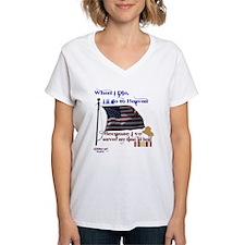 When I Die... Iraq Shirt