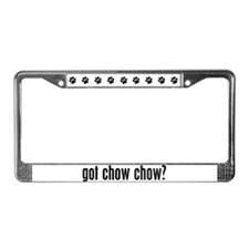 Got Chow Chow? License Plate Frame