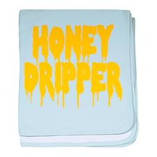 Honey Dripper baby blanket