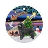 Xmas Magic &amp; PWD (Retr) Ornament (Round)