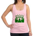 Green Stadium Racerback Tank Top