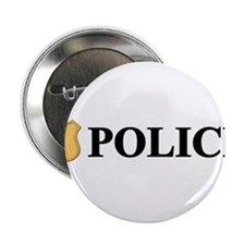"Police B.png 2.25"" Button (10 pack)"