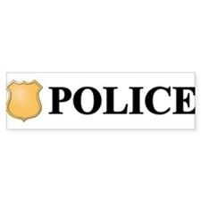 Police B.png Bumper Stickers