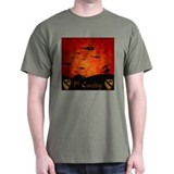 Harvest Moons 1st Cav Past & Present T-Shirt