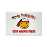 Kuwaiti Smiley Designs Rectangle Magnet (100 pack)