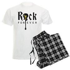 rock guitar pajamas