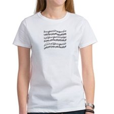 music notes Tee