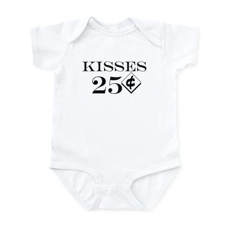 Kisses 25 Cents Infant/Baby Bodysuit