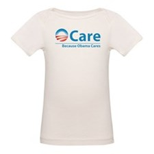 ObamaCare, Because Obama Cares Tee