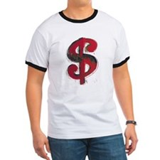 Red Dollar Sign T