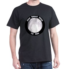 One Small Step For Man Dark T-Shirt