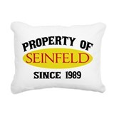 Property of Seinfeld Rectangular Canvas Pillow
