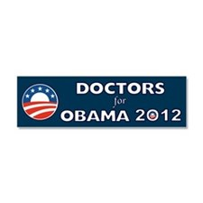 Doctors For Obama 2012 Car Magnet 10 x 3