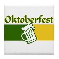 Oktoberfest Beer Tile Coaster