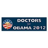 Doctors For Obama With Caduceus Stickers