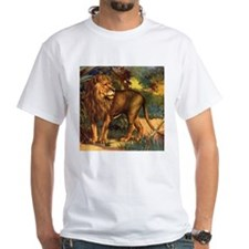 Vintage Lion Painting Shirt