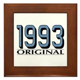 1993 Original Framed Tile