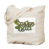 Snake Girl Tote Bag