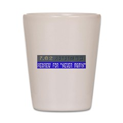 7.62 Hebrew Shot Glass