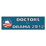 Doctors For Obama 2012 Stickers
