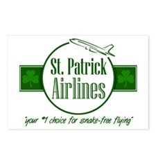 """St. Patrick Airlines"" Postcards (Package of 8)"