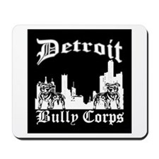 Detroit Bully Corps City Scape Mousepad